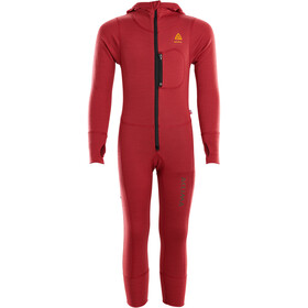 Aclima WarmWool Combinaison Enfant, chili pepper